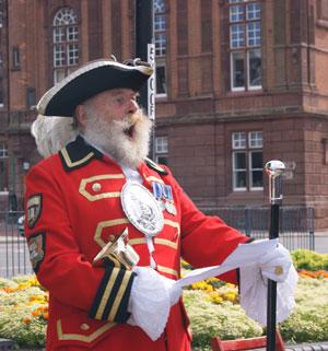 Herold Miejski obwieszcza ponowne przybycie do Great Yarmouth Zjawy kapitana Wladysława Wagnera