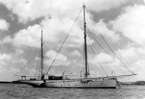 Jacht Rubicon był ich domem od 1948 roku...