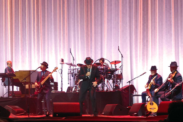 Koncert Leonarda Cohena w Toronto