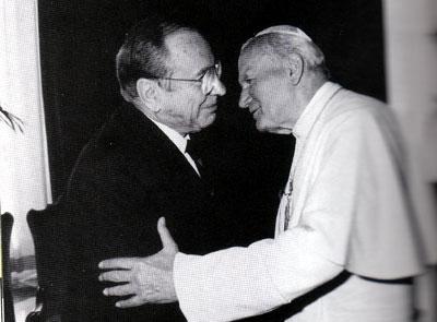 Papież i Jerzy Kluger
