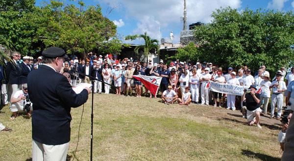 Uroczystosci Na Bellamy Cay 2012