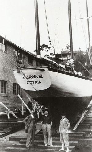 Wodowanie Zjawy III, 27 marca 1937
