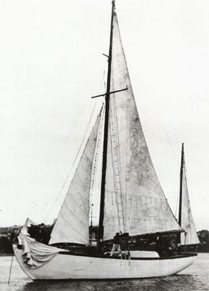 5 listopada 1937. Zjawa III wpływa do portu w Sydney