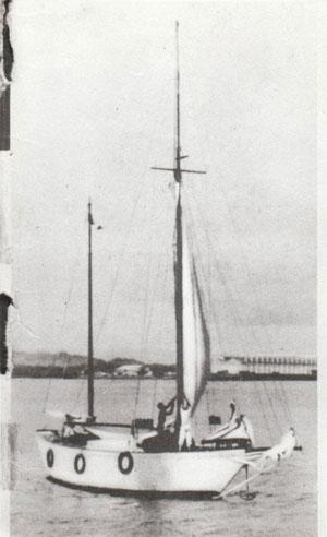 Pierwsza Zjawa, po przebudowie gotowa do drogi przez Atlantyk. Dakar, maj 1933 rok.